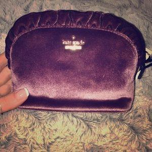 ♠️Kate spade ♠️ velour mini purse